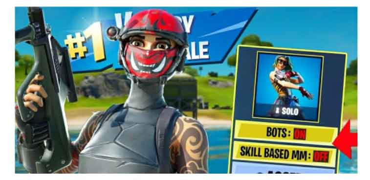 fortnite introduces skill-based matchmaking and bots