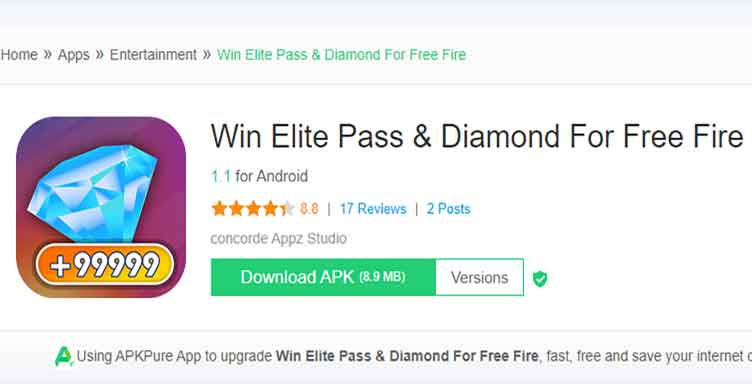 How to Win Elite Pass and Diamond for Free Fire in 2021 1