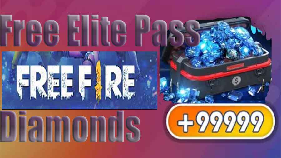 Free Fire: win elite pass and Diamonds